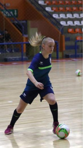 Alto-felizense convocada para seleção feminina de Futsal