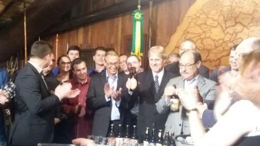 Sancionada Lei que insere Alto Feliz na Região das Cervejarias Artesanais